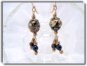 Midnight Garden Earrings