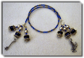 Ranvenclaw Beaded Bookmark